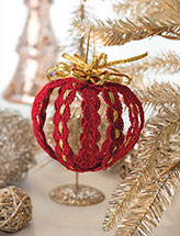 Classic Lacy Ornament Crochet Pattern