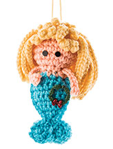 Seaside Ornaments: Mermaid Crochet Pattern