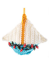 Seaside Ornaments: Sailboat Crochet Pattern