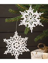 Ornamental Snowflakes Crochet Pattern