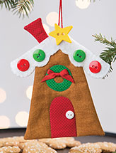 I'll Be Home for Christmas Ornament Pattern