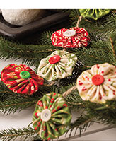 Yo-Yo Garland Quilting Pattern