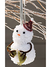 Stitchin' Snowman Ornament Pattern