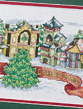 Merry Christmas Village