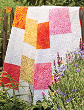 Stacked Blocks Lap Quilt