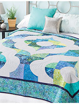 Ornamental Arches Bed Quilt