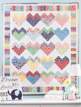 Candy Hearts Wall Quilt