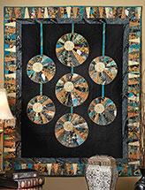 Hanging Lanterns Wall Quilt