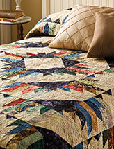 Mountain Getaway Bed Quilt