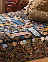 Woven Paths Bed Quilt