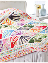 Sunburst Melody Bed Quilt