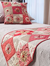 Pop of Color Bed Runner