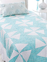 Splash! Bed Quilt