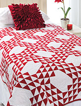 Tipsy Triangles Bed Quilt