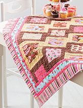 Sweet Inspiration Lap Quilt