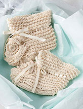Heirloom Booties