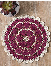 Growing Love Doily