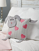 Puppy Love Pillow Quilt Pattern