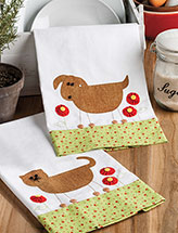 Love My Pets Tea Towel Set Quilt Pattern