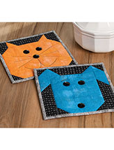 Please Feed the Animals Pot Holder Set Quilt Pattern