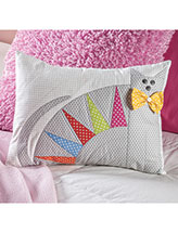 Cool Cat Pillow Quilt Pattern
