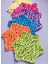 Vibrant Blossoms Dishcloth Crochet Pattern