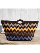 Hill Country Basket Crochet Pattern