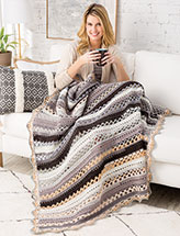 Daily News Throw Crochet Pattern
