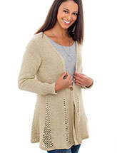 Paula Cardigan Knit Pattern