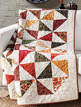 Color Cascade Quilt Pattern