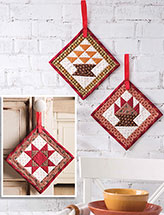 Harvesttime Door Hangers Quilt Pattern