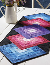 Radiant Brilliance Runner Quilt Pattern