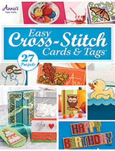 Easy X Stitch Cards & Tags Pattern
