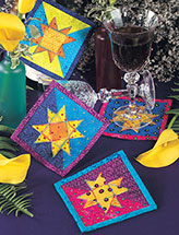 New Year's Coasters Quilt Pattern