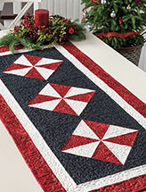 Peppermint Spin Runner Quilt Pattern