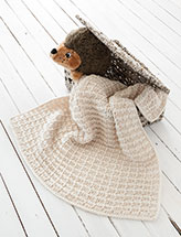 Chrissy Baby Blanket Crochet Pattern