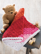 Sweet Sunset Baby Blanket Crochet Pattern
