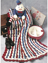 Humpty Dumpty Afghan Set Crochet Pattern