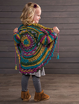Kaleidoscope Jacket Crochet Pattern