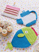 Oven Lovin' Hot Pads Crochet Pattern