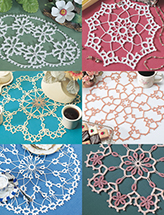 Tatted-Look Doilies Crochet Pattern