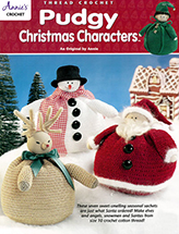 Pudgy Christmas Characters Crochet Pattern