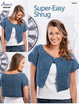 Super-Easy Shrug Crochet Pattern
