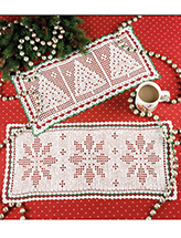 Christmas Filet Crochet Pattern