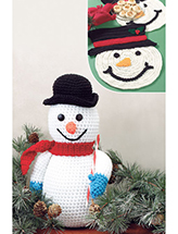 Snowman Decor Crochet Pattern