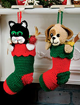 Pet Stockings Crochet Pattern
