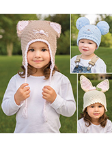 ANNIE'S SIGNATURE DESIGNS: Funny Ears Crochet Hats Pattern