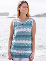 ANNIE'S SIGNATURE DESIGNS: Wisteria Top Crochet Pattern