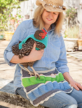 ANNIE'S SIGNATURE DESIGNS: Fowl Play Crochet Pattern