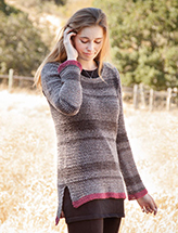 ANNIE'S SIGNATURE DESIGNS: Casmalia Sweater Crochet Pattern